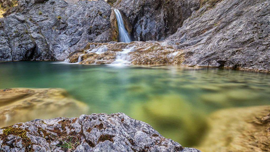 Die Stuibenfälle bei Reutte in Tirol