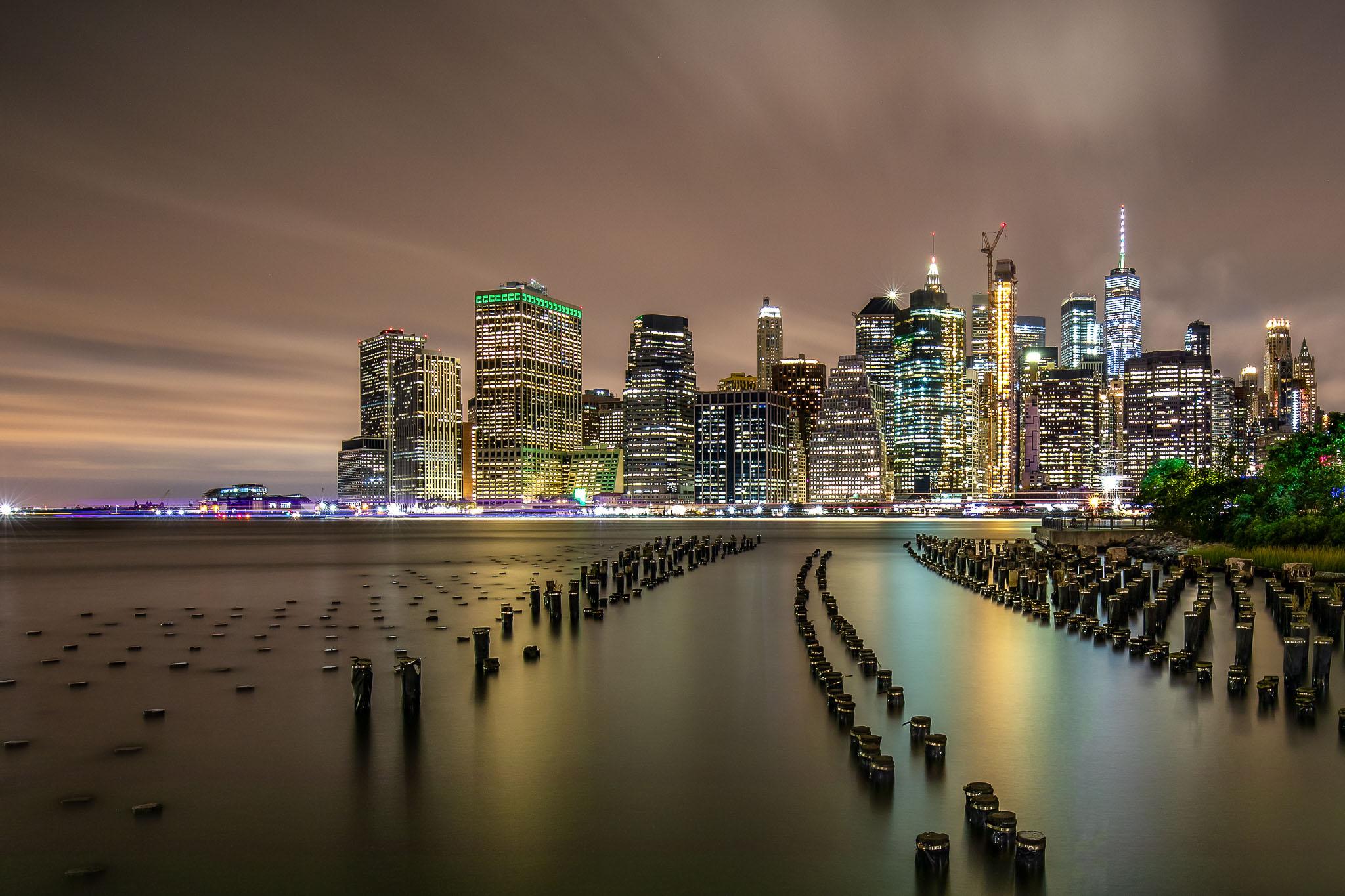 Brooklyn Pier 1 at night