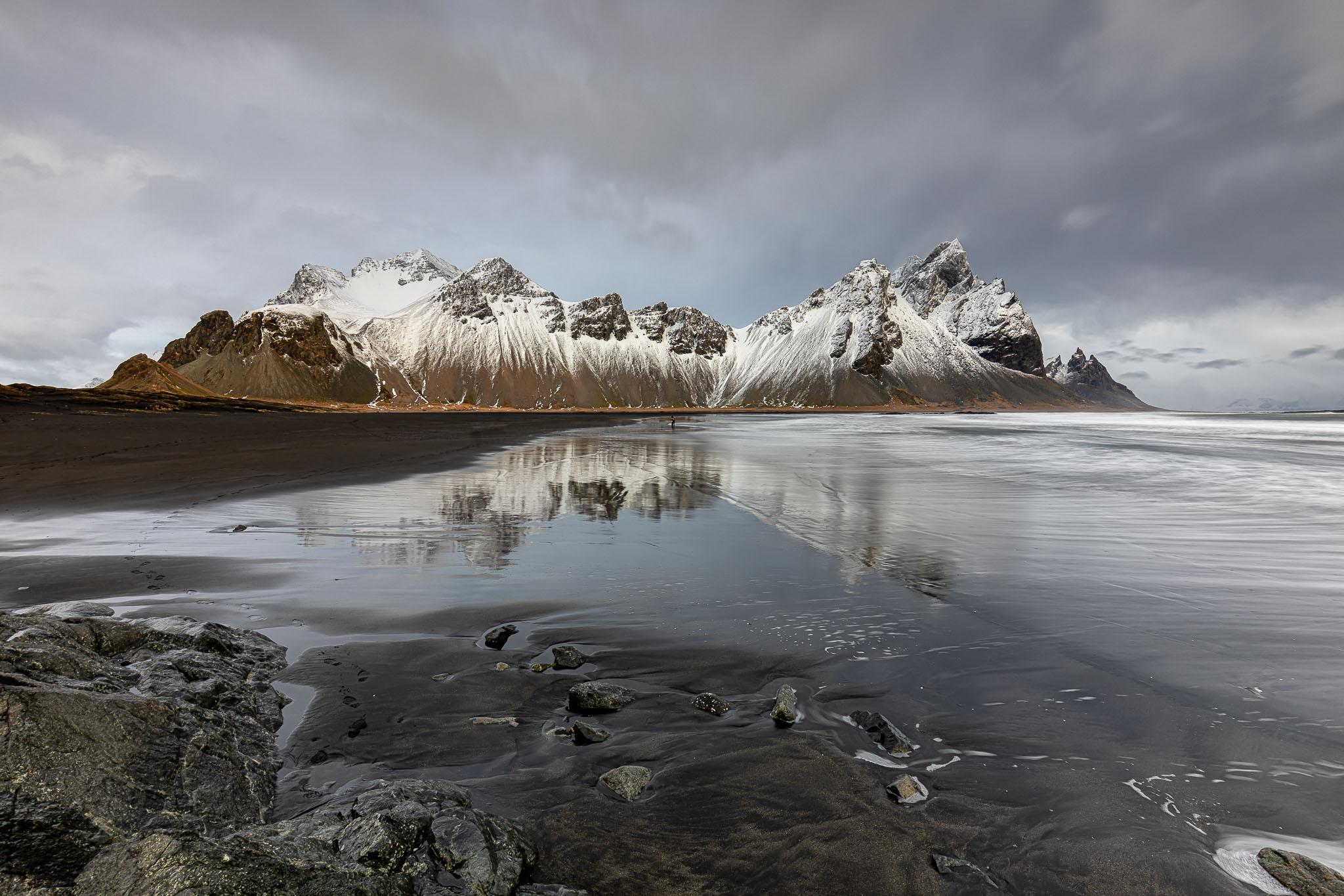 Vestrahorn Island Februar 2020